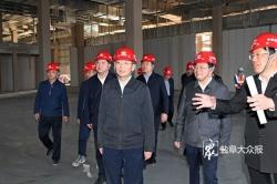戴源到华人运通韩国动力电池等项目调研时强调 严格按照时序进度全力推进投产达效 崔浩参加