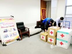 盐都红会捐赠德国茨维考市2万只医用口罩