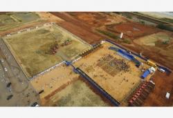 海南自由贸易港建设项目集中开工和签约仪式举行