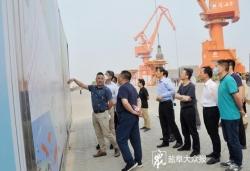 我市加快推进滨海港铁路专用线工程建设