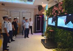 鹽南高新區消防救援大隊開展消防安保集中夜查行動