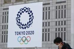 奧運會會徽被設計成新冠病毒 東京奧組委提出抗議