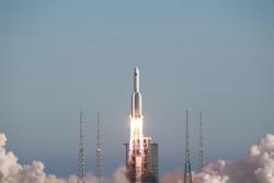 中共中央 國務院 中央軍委對長征五號B運載火箭首次飛行任務圓滿成功發出賀電