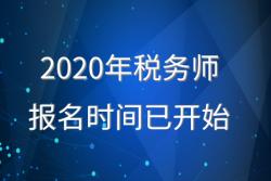 2020年度全國稅務師職業資格考試報名啟動