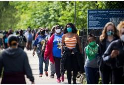 約翰斯·霍普金斯大學:美國累計新冠確診病例超過120萬例