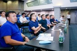 盐南高新区科城街道创新招商推介走进深圳高新奇科技园区