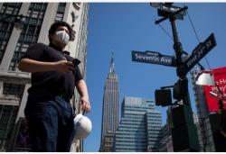 美国新冠病毒感染病例超过184万例