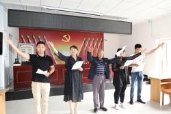 东台镇:村民打快板  宣传《民法典》