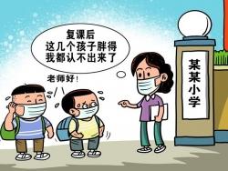 师见面不相识,惊问小胖你是谁?——复课后儿童体质健康观察