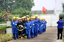 中国石化best365石油、best365交通局联合举办应急演练