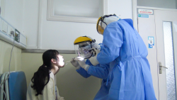 滨海县人民医院模拟新冠肺炎病人应急处置演练