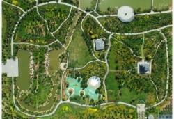 废弃坑塘变身生态公园
