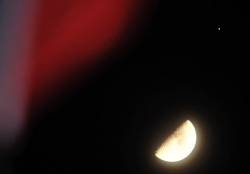 """记得看哦!月亮木星土星5日、6日晚上演""""三英会"""""""