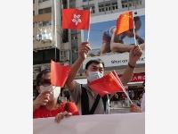香港市民支持实施香港国安法