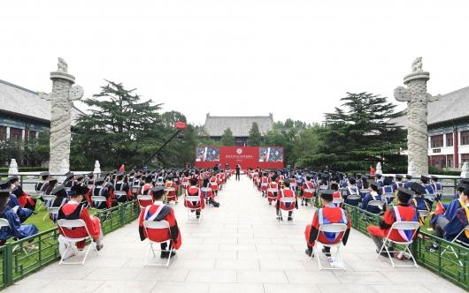 北京大学举行2020年毕业典礼