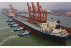 曹妃甸口岸上半年外贸货物吞吐量超9000万吨
