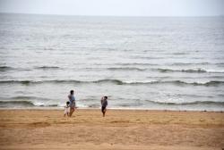 山东日照:海滨消夏