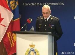 加拿大皇家骑警就华人女生遭暴打公开道歉