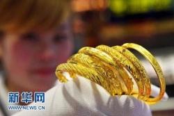 best365黄金饰品价格一年涨了四成