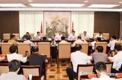 市委召開退役軍人事務工作領導小組第二次會議 戴源主持 張鎮出席會議