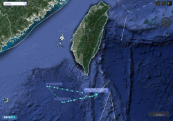 美军又派两架军机来中国近海侦察,同时现身南海和黄海
