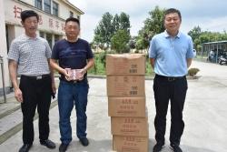 李玉祥向上冈镇镇敬老院捐赠10万元