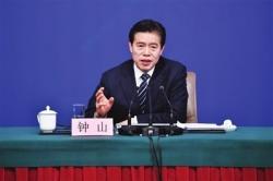 权威访谈 | 商务部部长钟山:稳住外贸外资基本盘 促进国内消费发展
