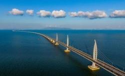 港珠澳大橋口岸珠澳貨運通道正式啟用