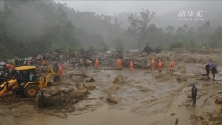 印度喀拉拉邦山体滑坡死亡人数升至43人