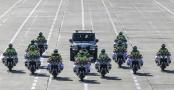 北京交警完成摩托车警务特种驾驶轮训任务