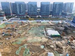 中韓(鹽城)產業園未來科技城加快北區項目建設