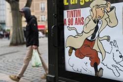 《丁丁歷險記》封面圖草稿拍出320萬歐元