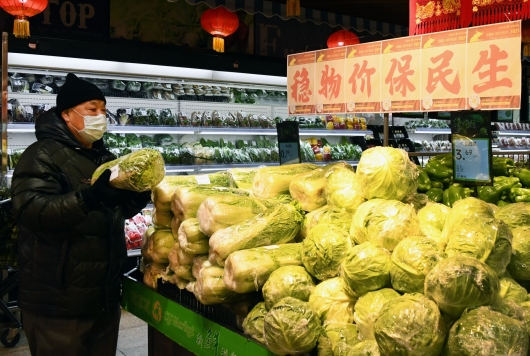 北京超市:备足货量保障节前供应