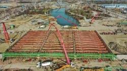 鹽城南海未來城六車道龍悅北支河橋將成新景