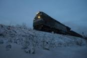 零下40℃徒手拧螺栓 只为大兴安岭的小火车安全通过
