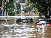 雅加达:洪水来袭
