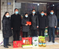 亭湖区退役军人事务局携手五星街道慰问驻海外军人家庭