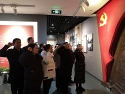 文峰街道沿河社区接受党性教育