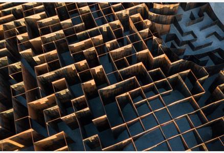 """比利时:旧矿区上的""""雕塑迷宫"""""""