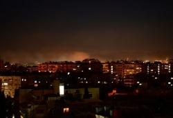 叙利亚军方说以色列空袭大马士革周边地区