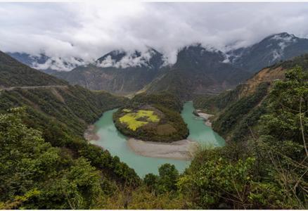 壮美怒江大峡谷