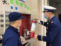 濱??h消防救援大隊開展消防產品專項檢查