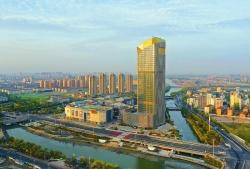 龙8app下载万豪酒店开业 先锋国际广场全面建成