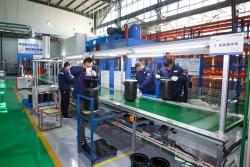 龙8app下载经开区一企业新工厂正式投产