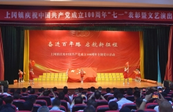 上冈镇举办庆祝建党100周年主题活动