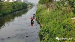 盐城经开区:多措并举保障汛期水质稳定达标
