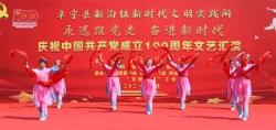 新沟镇举行文艺汇演庆祝建党百年