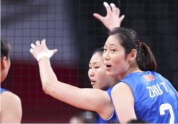 东京奥运会|朱婷:有的球疼得发不上力
