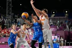 创造历史!中国队夺得东京奥运会女子三人篮球铜牌