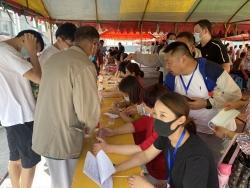 建阳镇:在疫情防控一线检验党史学习教育成果